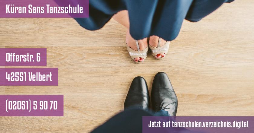 Küran Sans Tanzschule auf tanzschulen.verzeichnis.digital
