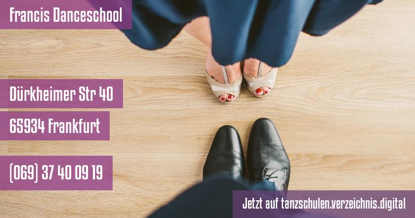 Francis Danceschool auf tanzschulen.verzeichnis.digital