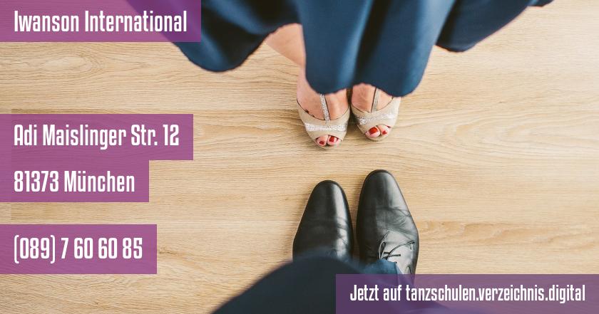 Iwanson International auf tanzschulen.verzeichnis.digital