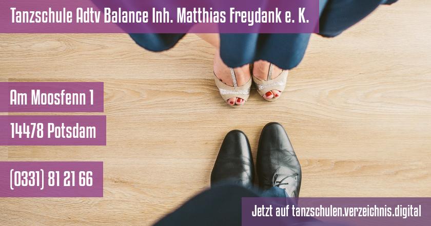 Tanzschule Adtv Balance Inh. Matthias Freydank e. K. auf tanzschulen.verzeichnis.digital