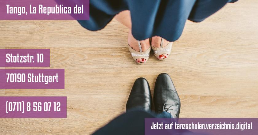 Tango, La Republica del auf tanzschulen.verzeichnis.digital