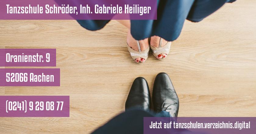 Tanzschule Schröder, Inh. Gabriele Heiliger auf tanzschulen.verzeichnis.digital