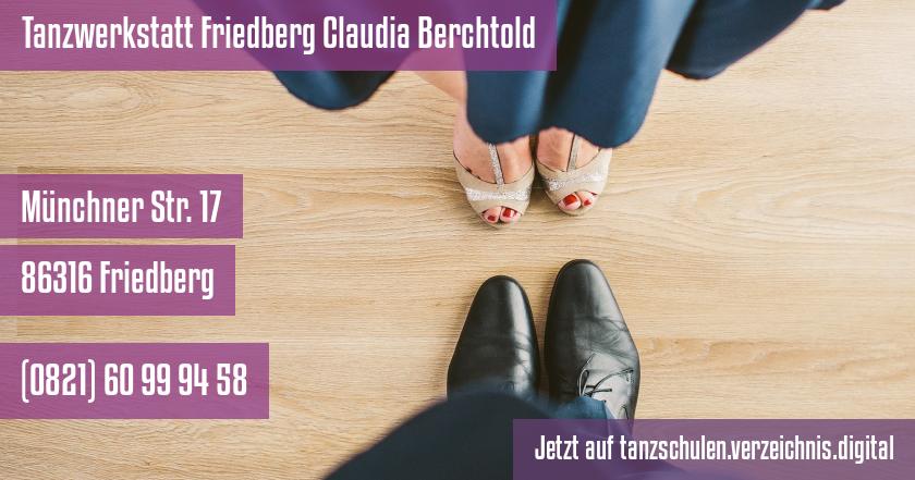 Tanzwerkstatt Friedberg Claudia Berchtold auf tanzschulen.verzeichnis.digital