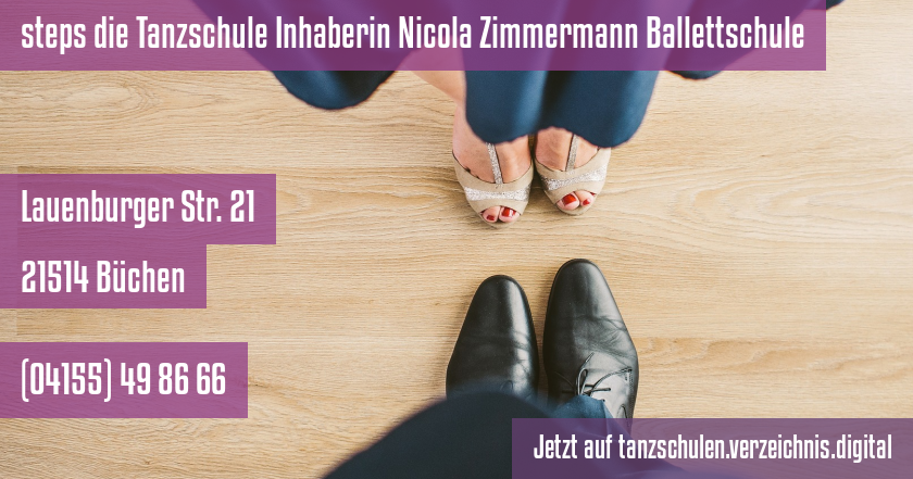 steps die Tanzschule Inhaberin Nicola Zimmermann Ballettschule auf tanzschulen.verzeichnis.digital