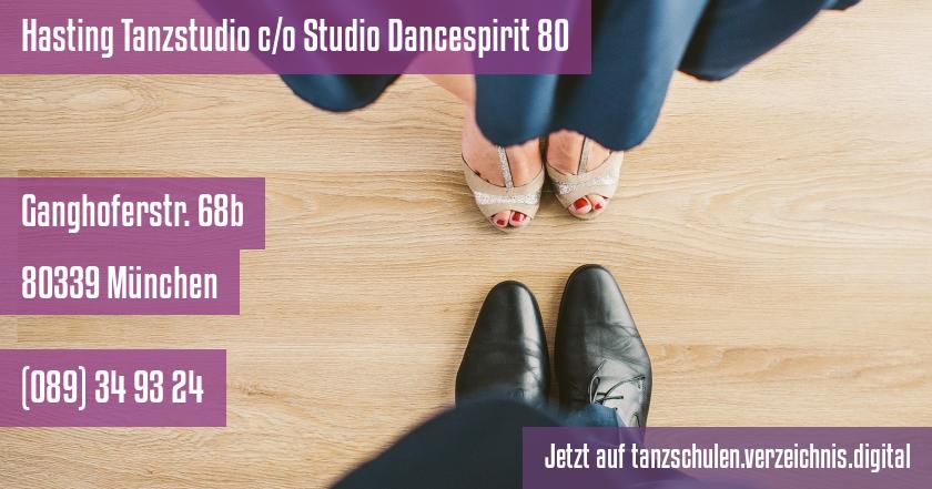 Hasting Tanzstudio c/o Studio Dancespirit 80 auf tanzschulen.verzeichnis.digital